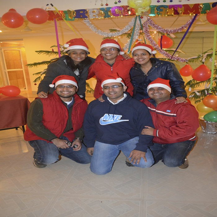 Christmas Celebration at Village Machaan Pench
